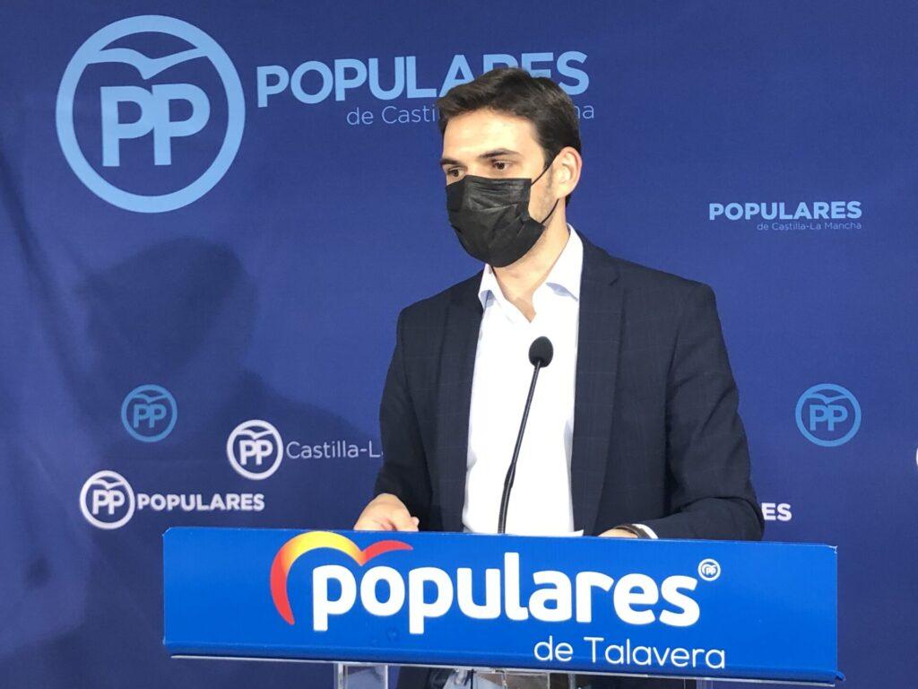 Santiago Serrano, portavoz del Partido Popular en Talavera