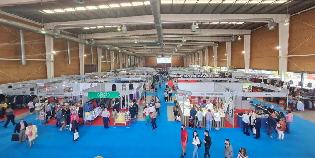 Vista panorámica del pabellón durante La Feria del Stock 2021