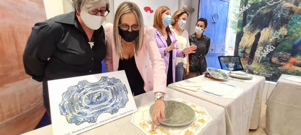 Proyectos textiles para la promoción de la cerámica talaverana